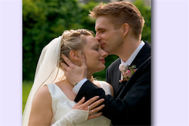 Wedding Day Nerves helped with Hypnotherapy